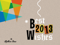 B\W - Best Wishes 2013 - v2