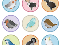 Bird Badges