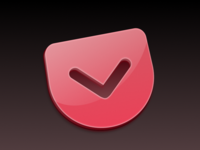 Pocket for Mac replacement icon