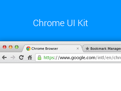 Download Chrome UI Kit v.2