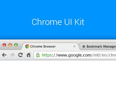 Download Chrome UI Kit v.2