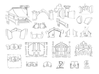 Logo — Metal Gates (Sketches 1)