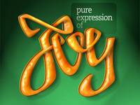 Calligraphy — Pure expression of joy
