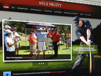Long Drive Golfer Website