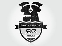 Ryan Villopoto Back 2 Back Champ Logo