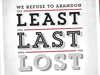 The Least, Last & Lost