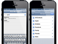 Add Groups to Messages – iOS