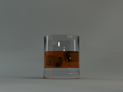 Wiskey glass