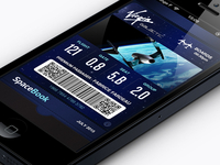 PassBook Virgin Galactic Ticket
