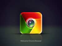 Chrome icon IOS Design