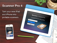 Scanner Pro - App store screen
