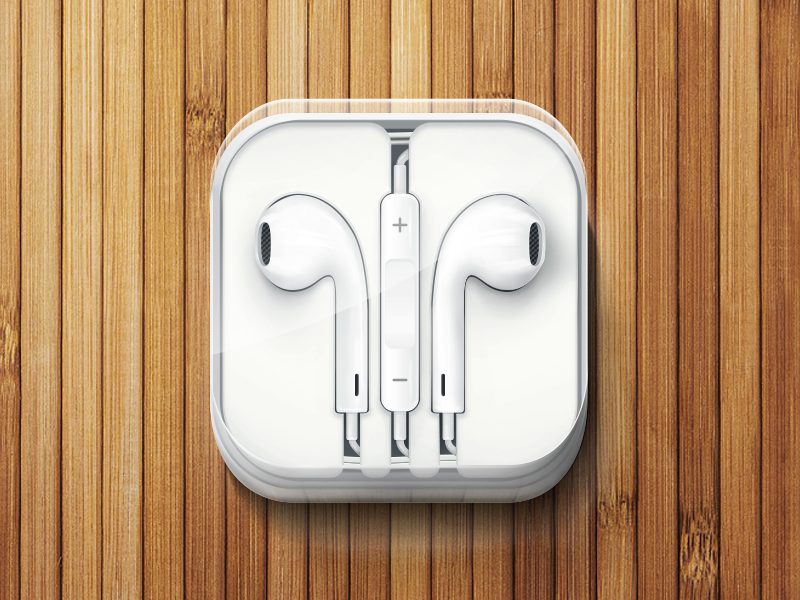 iPhone 5 Headphones by JustD