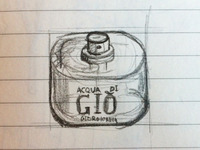 Sketch icon Acqua di Gió, Armani