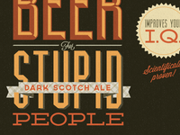 """Shane's beer for stupid people - scotch ale"""