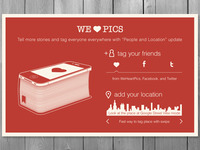 Card for FB page