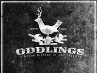 Oddlings Group Show Logo Header