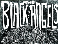 Black Angels Poster Detail