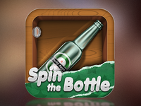 Spin the Bottle app icon