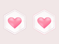 Luminous Love Logo Study