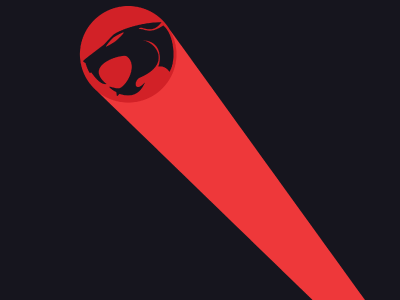 Thunder Cats Sign on Dribbble   Thundercats By Aaron Bacon