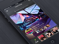 Nightlife App Design