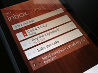 Wunderlist for Windows Phone 7