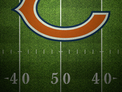 Chicago Bears Gridiron Detail