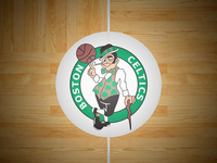 Dribbble Celtics Court