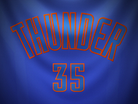 Oklahoma City Thunder Christmas Day Jersey