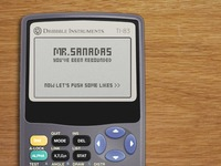 Dribbble Instruments TI-83