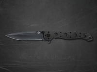 Dribble Knife in Black