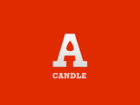 A Candle - Logo Mark