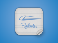 Railnotes App Icon