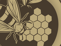 Bee/Apple Client Logo WIP