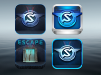 [WIP] - The Stormglass Protocol : ESCAPE Icons