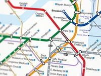 Boston MBTA Map Redesign