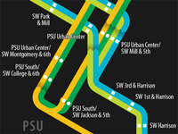 PDX Rail Map - September 2012