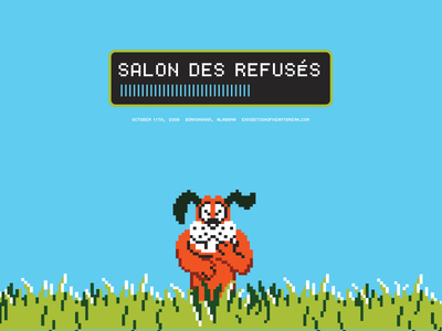 Game Over - Salon des Refusés, rejection poster show