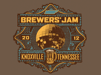 Knoxville Brewers' Jam Event T-Shirt Retail