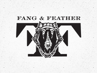 Fang & Feather Alternate Logo
