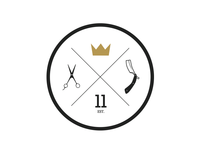 Golden Crown Barbershop emblem