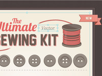 Screenshot: the ultimate (vector) sewing kit