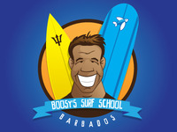 Boosy's Surf School Logo