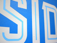 MKE Type Exhibit—Detail from East Side