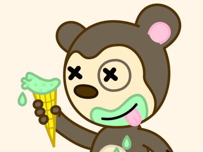 Monkey_icecream
