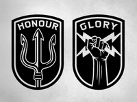 Honour Over Glory Badges
