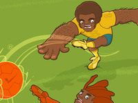Football - Brownjames Freelance Illustrator
