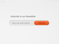 Subscribe Via Email Section v2