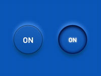 """On"" button states"