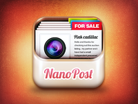 Nanopost IOS icon